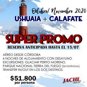 Ushuaia y Calafate