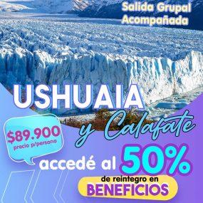 Ushuaia y El Calafate ENERO